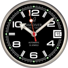 black am-diver