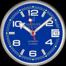 blue am-diver